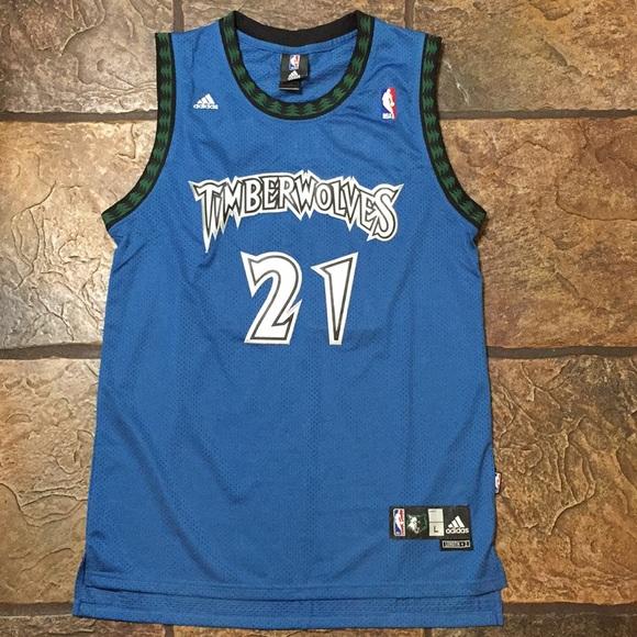 adidas Other - Kevin Garnett - Minnesota Wolves Jersey 52712bf73